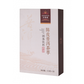 INFINITUS Dried Tangerine Peel Pu'er Tea